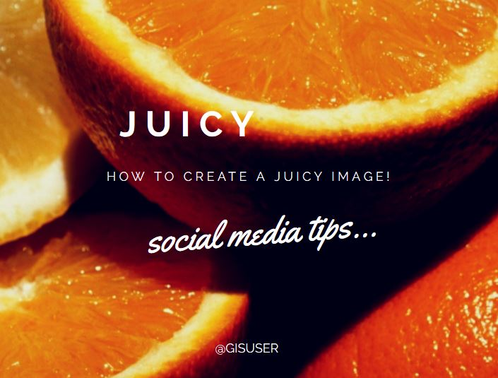 create a juicy image