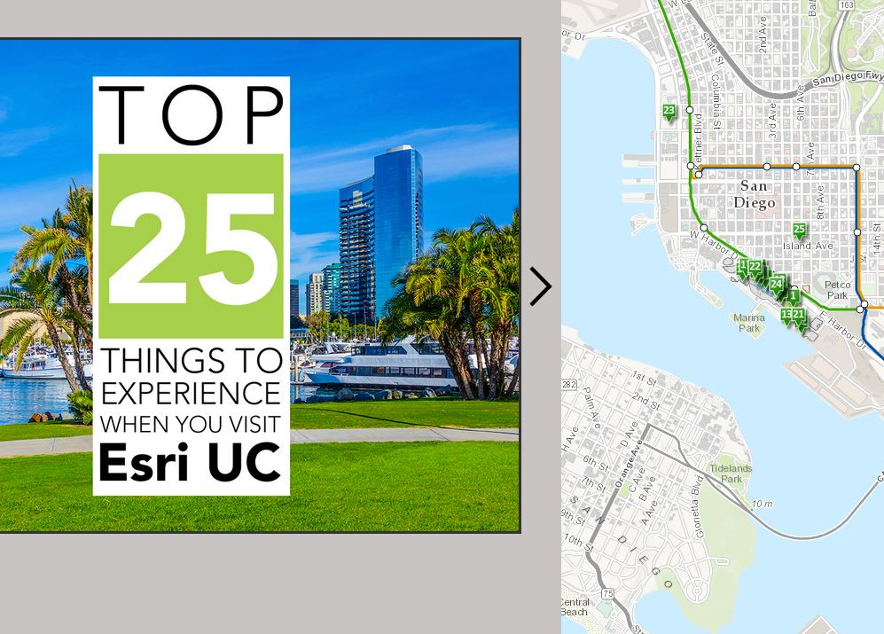 25 Things to do while at ESRIUC