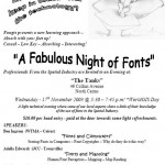 Fungis presents a night of fonts – GIS Day in Cairns, Australia