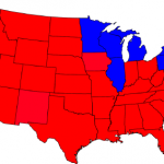 Maps and cartograms of 2004 US presidential election results