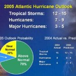 NOAA Issues 2005 Atlantic Hurricane Season Outlook