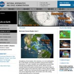 NASA Launches New Hurricane Web Page