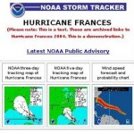 NOAA UNVEILS 'STORM TRACKER' TO FOLLOW TROPICAL STORMS AND HURRICANES