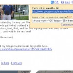 Embed your Google map (MyMap) into your blog, or website with youtube like ease!