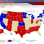 270ToWin – every possible combination to win 270 Electoral Votes