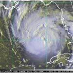 Hurricane Gustav GIS data, Imagery and path compared to Katrina