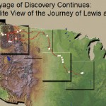 Geospatial EDU Spotlight – A Satellite View of the Journey of Lewis and Clark
