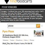 Microsoft Goes hyper local with Bing Maps food cart finder PDX