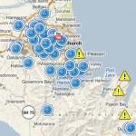 Esri Social Media Response Map, Christchurch New Zealand Earthquake