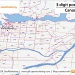 New digital maps of Canada from GfK GeoMarketing