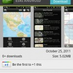 EsrI ArcGIS Mobile for Android Hits Android Market