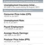 BLS Labor Stats app for Android phone or iPhone