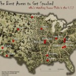 Esri Map – best places to get Spooked in the USA