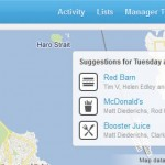 First Look – Foursquare Adds More Functionality To The Big Screen User (Tablet) with #new4SQ