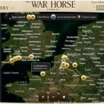 The War Horse Journey Time Map by Dreamworks and Microsoft (Bing)
