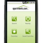 Apartments.com location-aware Search for listings on Android