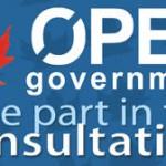 Canada Open Government Consultation #openGov