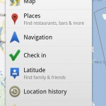Checkin to Google Places, Share on Google G+ Via the New Google Maps Mobile on Android
