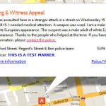 StreetViolence.org, Crowd Sourcing Crime reports and a Citizen Warning System on the Map