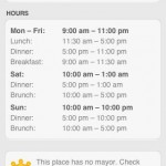 Foursquare For Business Owners – Add Your Business Hours And More