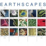 Images from Landsat 7 satellite included in new U.S Post Office series Earthscapes Forever stamps