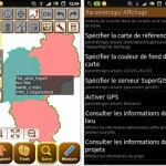 SuperSurv 3.1, Mobile GIS Application for Android, supports French Interface