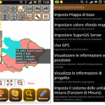 SuperSurv 3.1, Mobile GIS Application for Android, supports Italian Interface