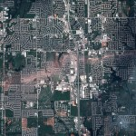 Imagery of Moore, Oklahoma before and after May 20 tornado