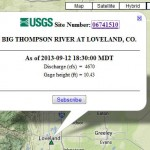 Useful USGS Flood data resources and Alert notification services