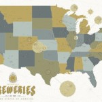 2,500 American Breweries on one Giant Map