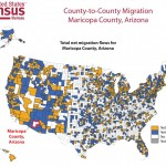 Census Flows Mapper Shows Net In / Out Migration by County