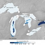 Great Lakes ice cover most extensive since mid-90s