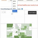 County health ranking 2014 and health roadmaps – How Healthy is your county?