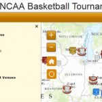 Basketball is Front and Center in March Madness Map by GeoDecisions