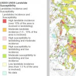 Esri Story Map Maps Landslide Incidence and Risk in the US