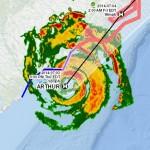 Track Hurricane Arthur as it Threatens Mid-Atlantic with Live Esri Tracking Map