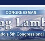 Congressman Lamborn Calls for Natural Resources Subcommittee with Primary Jurisdiction over Federal Geospatial Activities