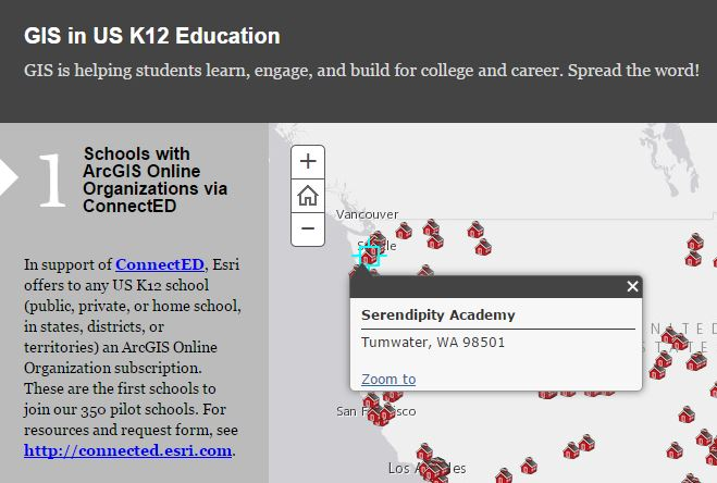 GIS in US K12 Education