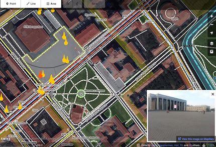 Mapillary in the OpenStreetMap iD Editor