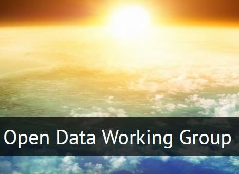 open data working group