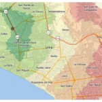 Caliper Offers Peru Data for Maptitude