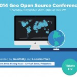Event Tip – 2014 Geo Open Source Conference, 11/20/14