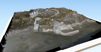 SimActive Used for Coastal Erosion Assessment with UAVs