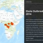 Ebola outbreaks interactive map released