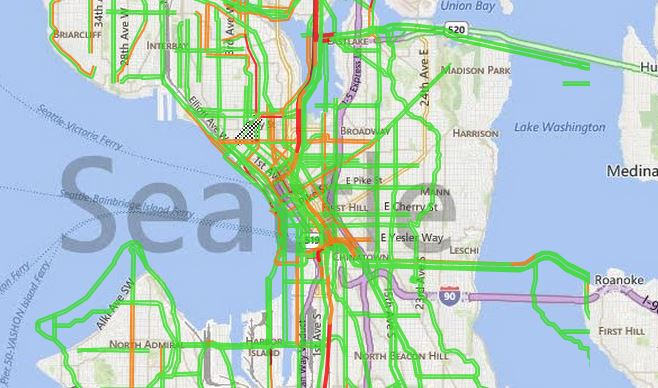 INRIX Traffic Coverage, Quality, & Forecasting