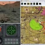Battlespace Simulations (BSI) Using TatukGIS DK for USAF Modern Air Combat Environment