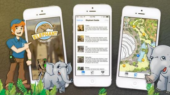 Timmons Group Awarded @OregonZoo's Elephant Lands Mobile Application