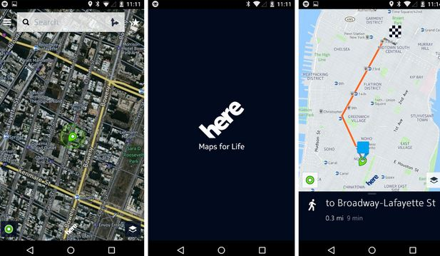 HERE Beta Will Challenge Your Google Maps Loyalty (Credit: Gizmodo)