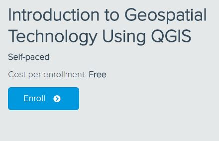 Introduction to Geospatial Technology Using QGIS