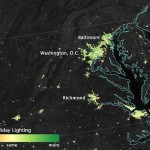 NOAA/NASA Satellite Sees Holiday Lights Brighten Cities